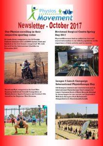 Newsletter October 20172